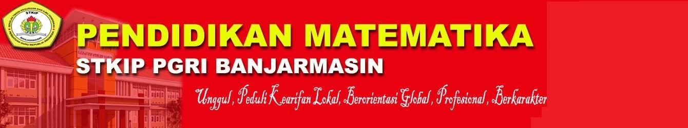 Pendidikan Matematika STKIP PGRI Banjarmasin